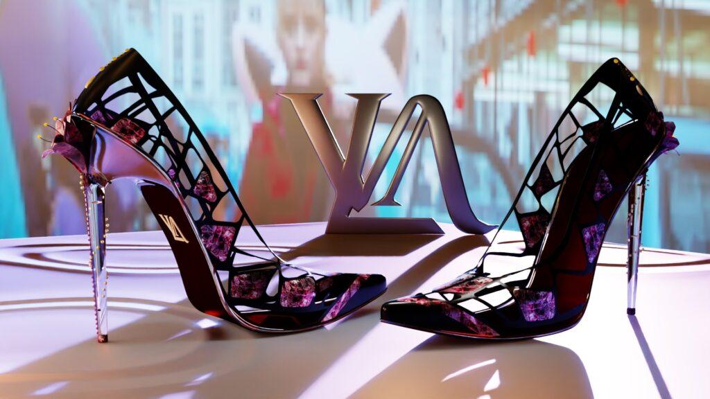 3D Design High Heels